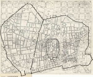 barcelona medieval muralla walls planta urban map barcino history wikimedia file century commons planning wikipedia upload moderna background bcn vox
