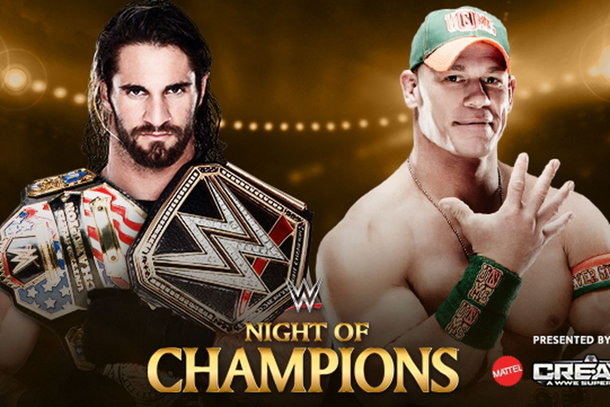 John Cena vs Seth Rollins rematch for the United States