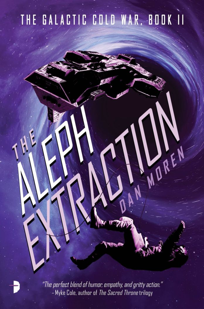 The Aleph Extraction by Dan Moren cover