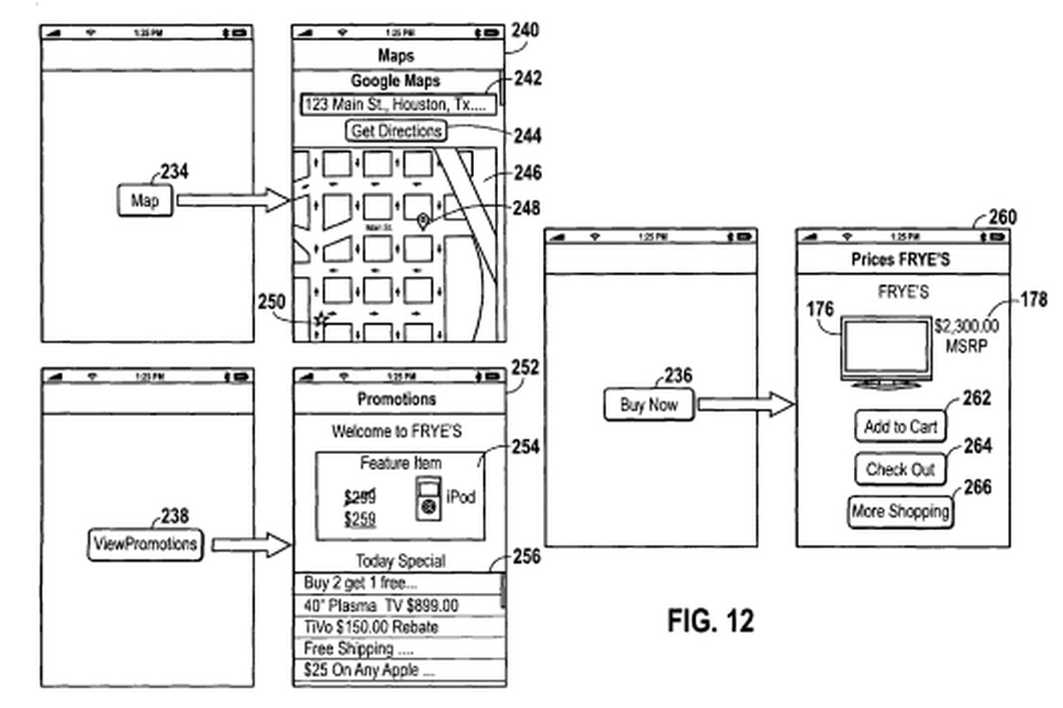 Apple Granted Patent For Location Aware Mobile Shopping