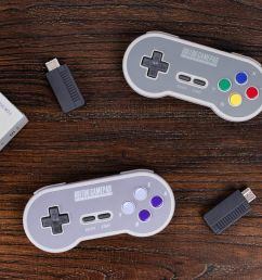 the snes classic is so much better with a wireless controller [ 1200 x 800 Pixel ]