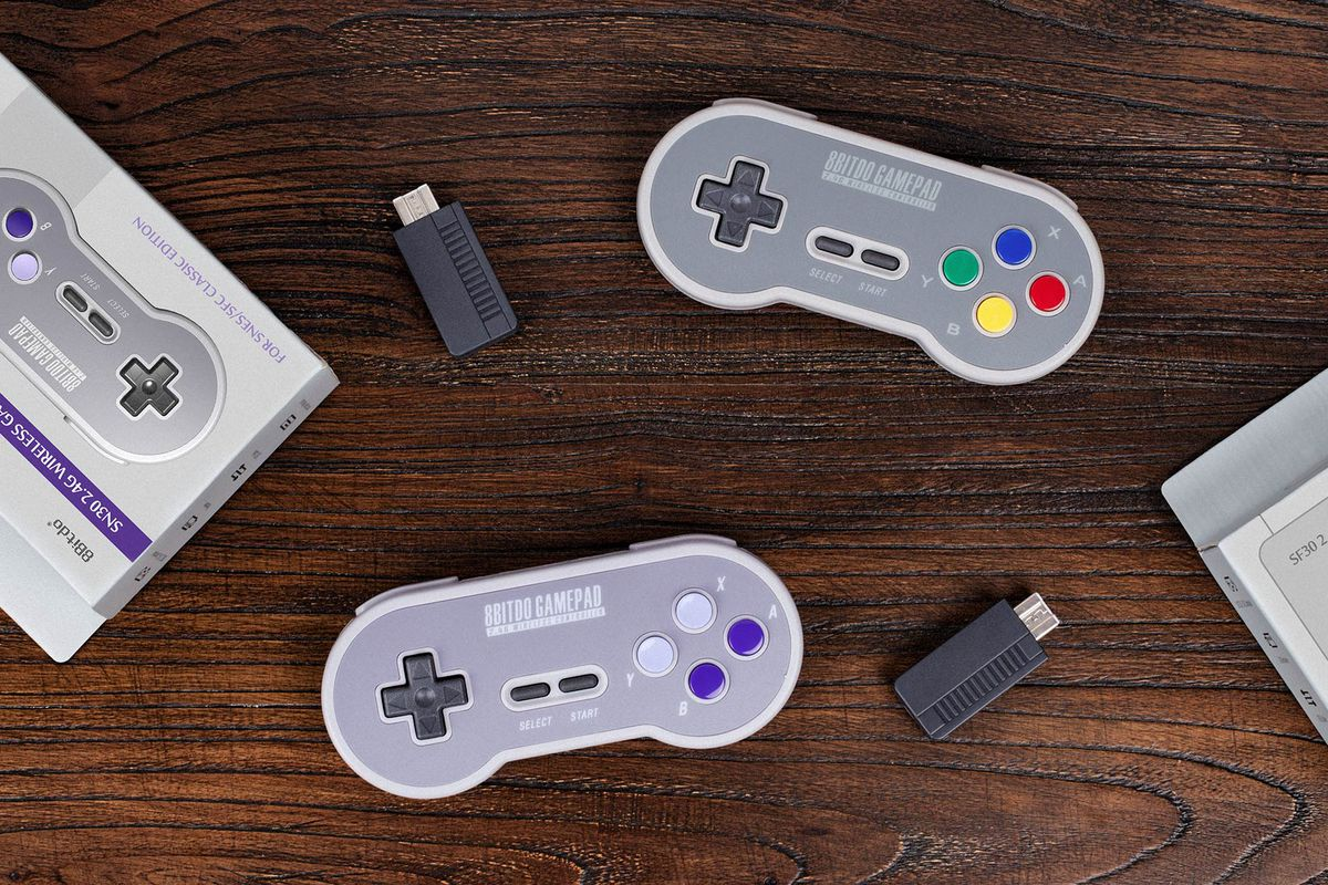 hight resolution of the snes classic is so much better with a wireless controller