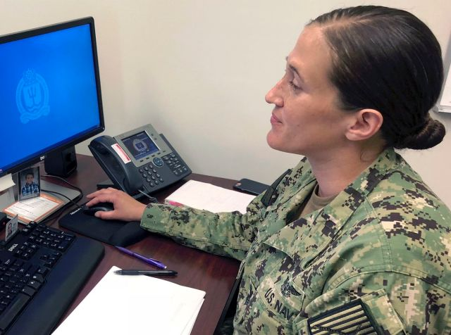 The Navy now allows women to wear their hair in bigger buns,