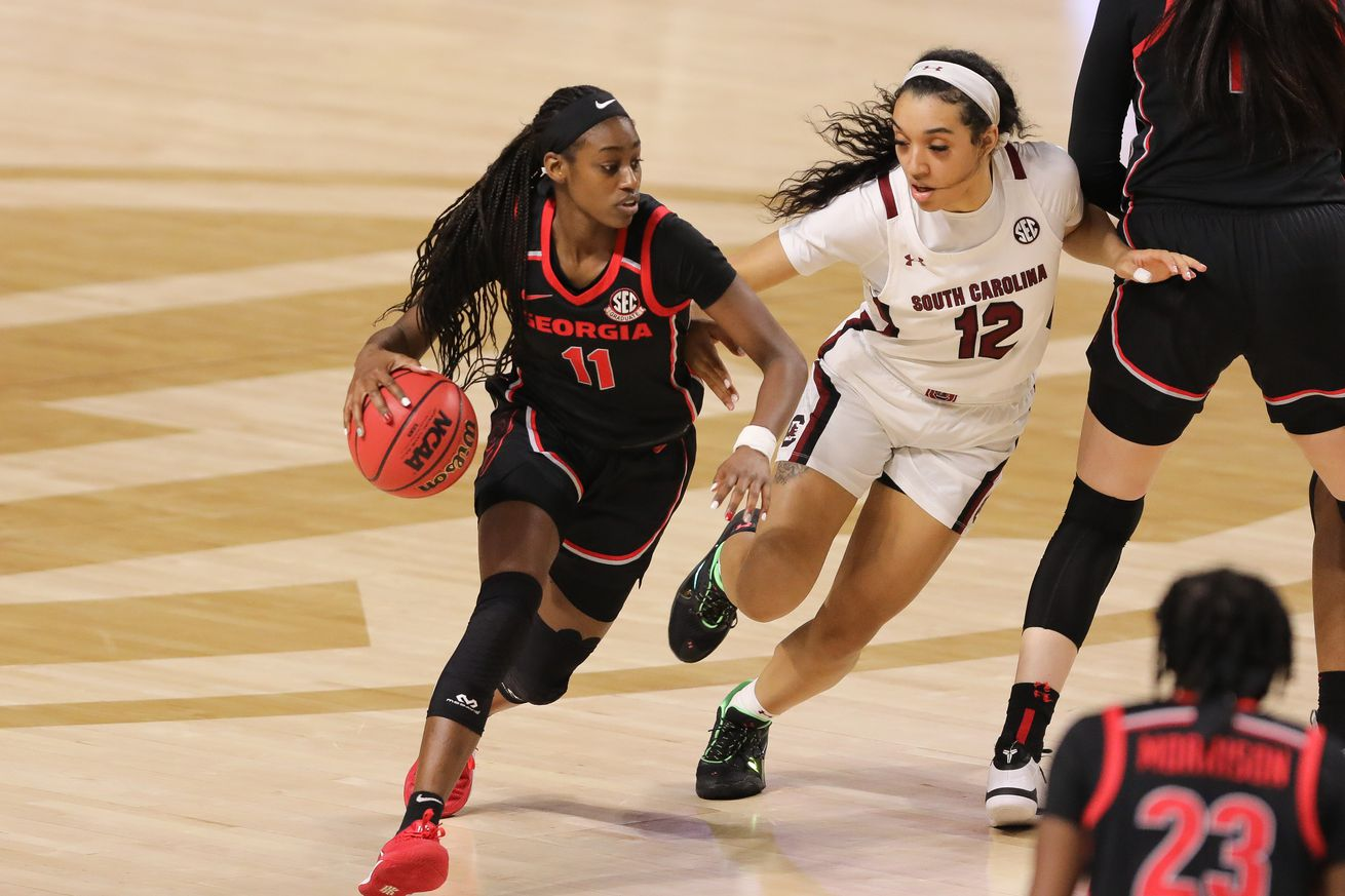 NCAA Womens Basketball: SEC Conference Tournament-South Carolina vs Georgia