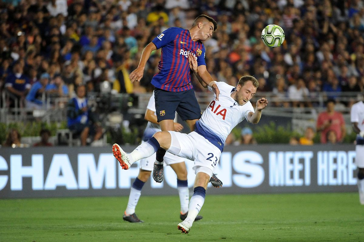 tottenham vs barcelna 2018 10 1