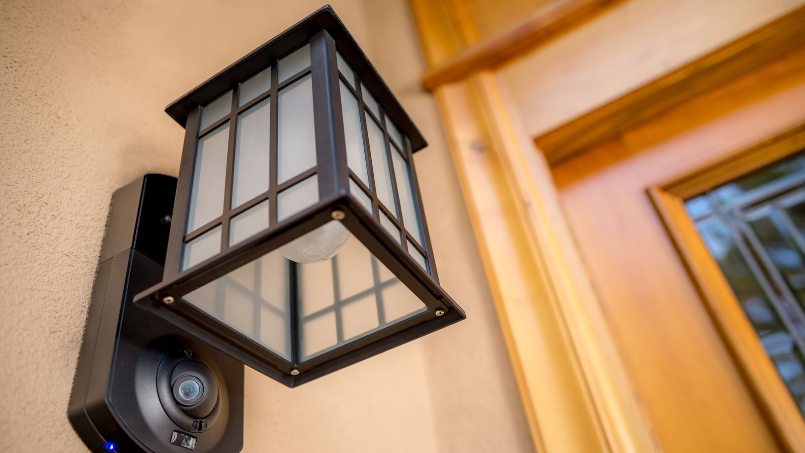 Motion Detector Front Porch Light
