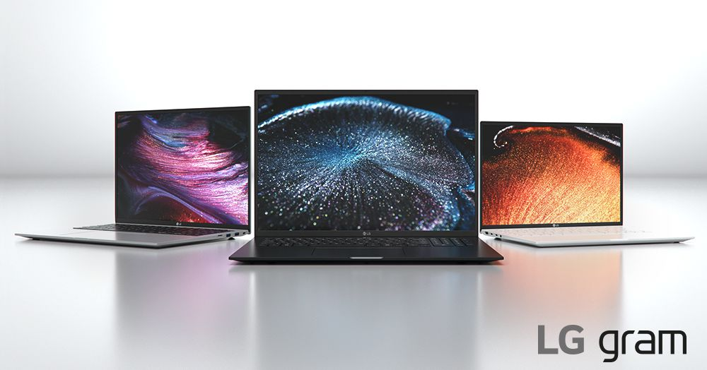 LG's 2021 Gram laptops feature Intel's 11th-Gen processors
