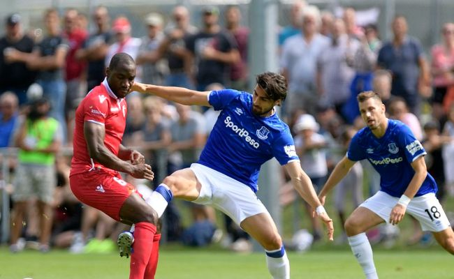 Fc Sion 0 0 Everton Toffees Pre Season Continues With