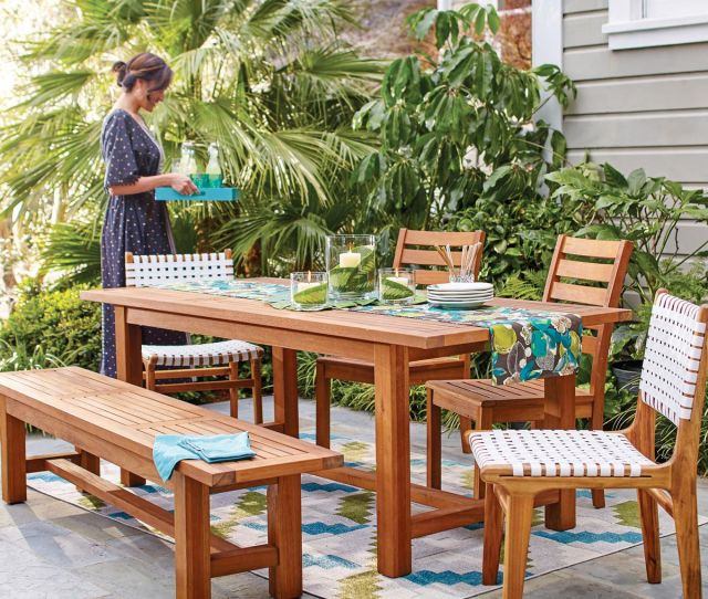 The Praiano Outdoor Dining Collection From Cost Plus World Market