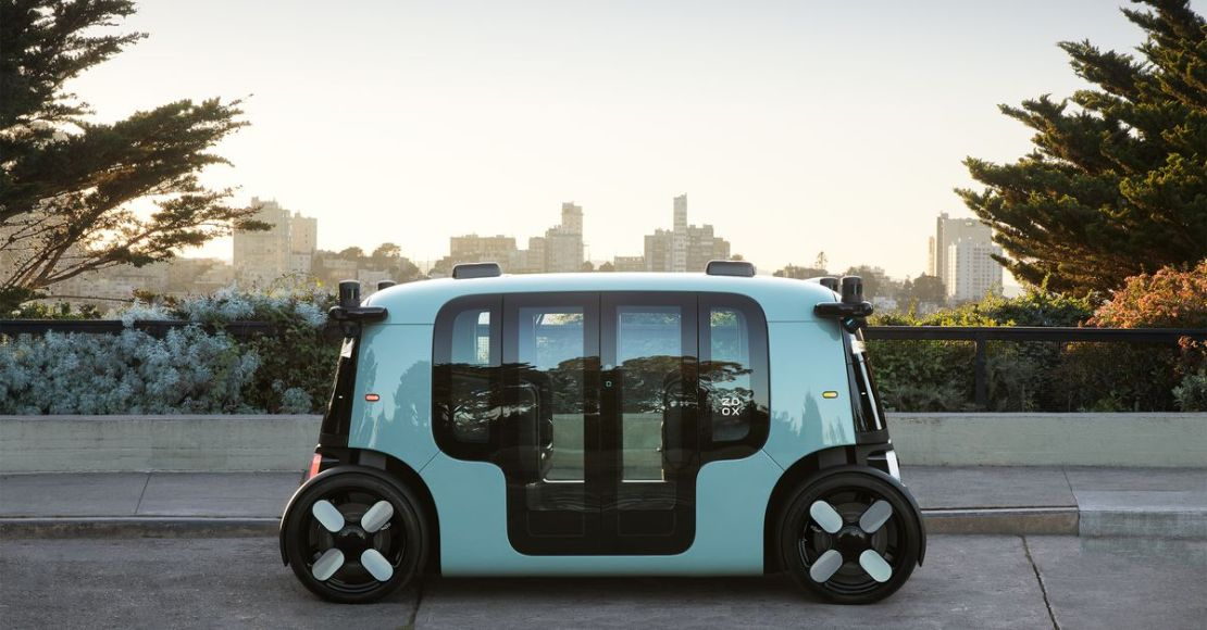 Zoox unveils a self-driving car that could become Amazon's first robotaxi
