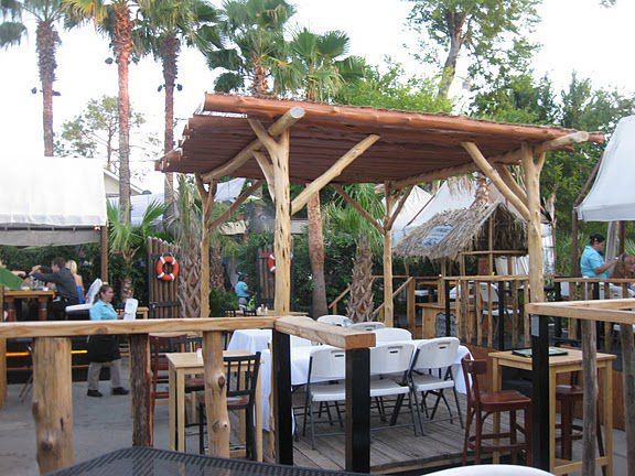 the best places to eat drink outside