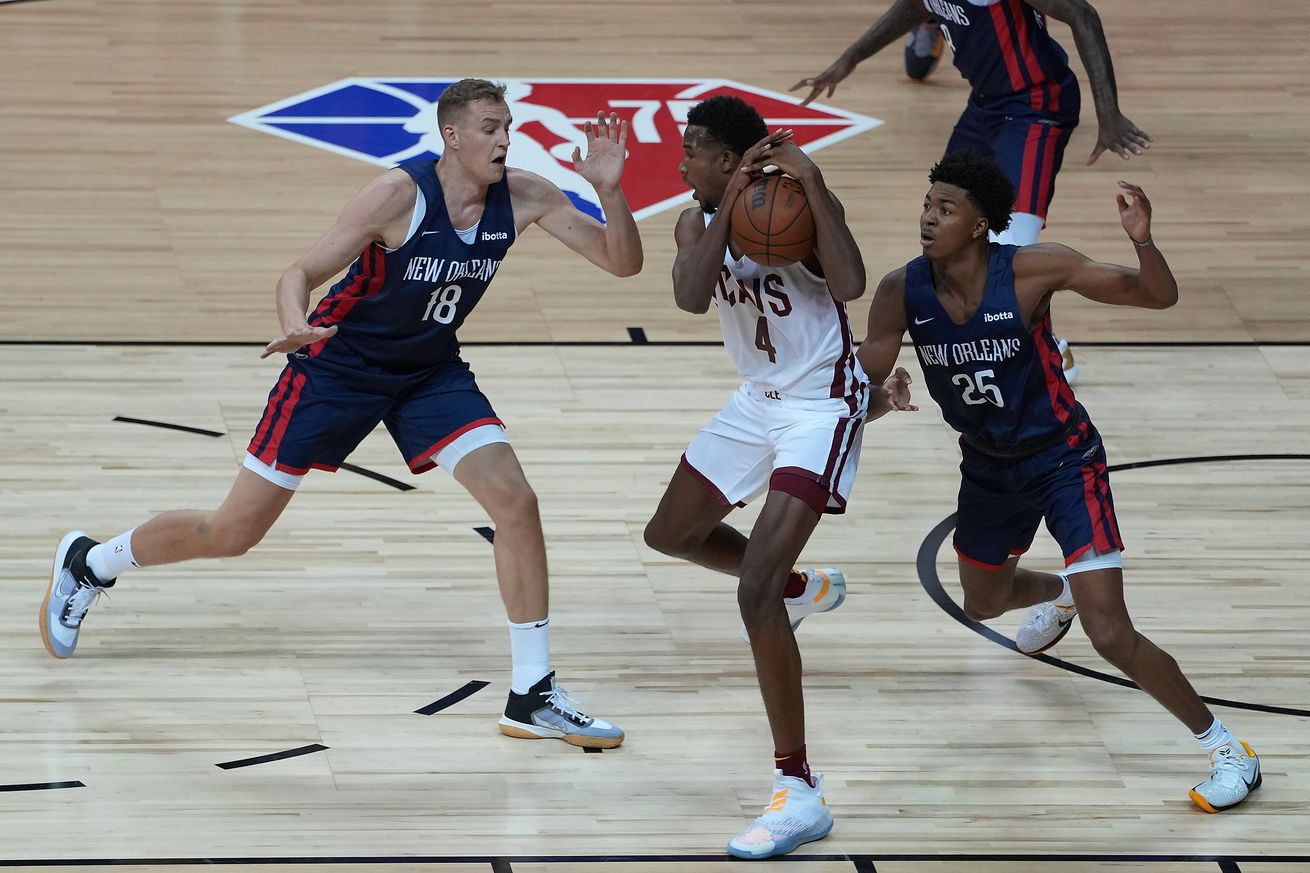 NBA: Summer League-NBA TV New Orleans Pelicans at Cleveland Cavaliers