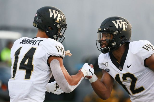 UNC Football: Wake Forest QB Jamie Newman looks to pick apart Jay ...