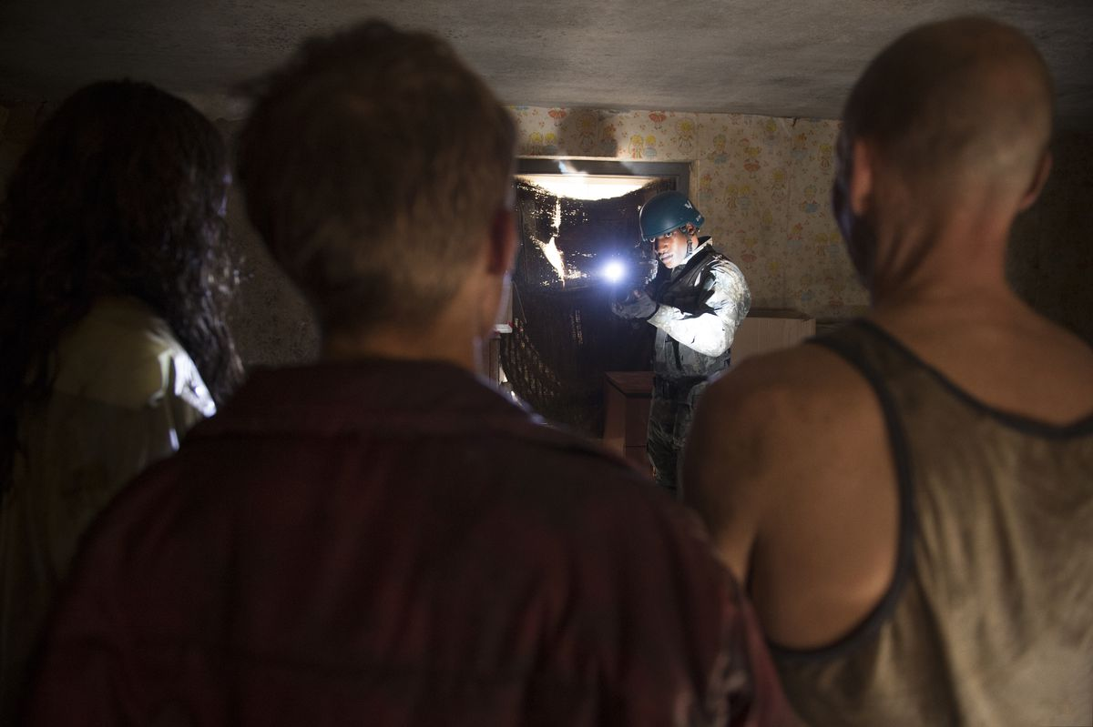 Black Mirror Season 3 Episode 5 Men Against Fire Is A