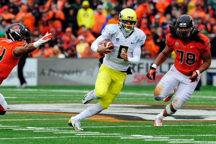 Civil War 2012 video highlights: Oregon runs all over Oregon State ...