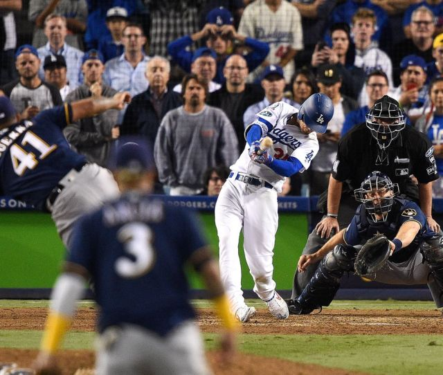 Dodgers Vs Brewers Nlcs Game  Chat