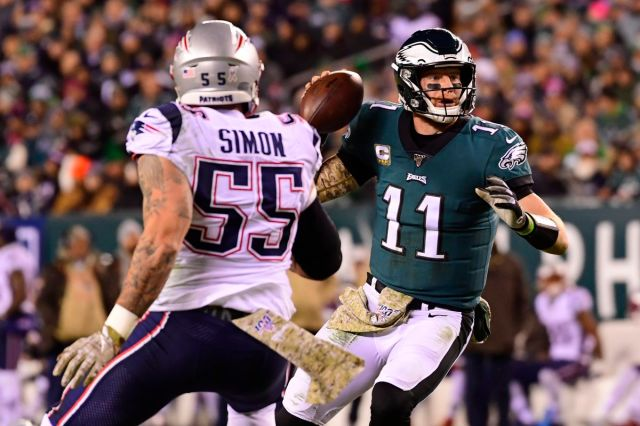 NFL Week 11: Instant analysis from Patriots' 17-10 win over Eagles - Pats  Pulpit