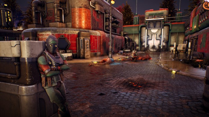 The Outer Worlds swaps Fallout's post-apocalypse for artwork deco in area 2