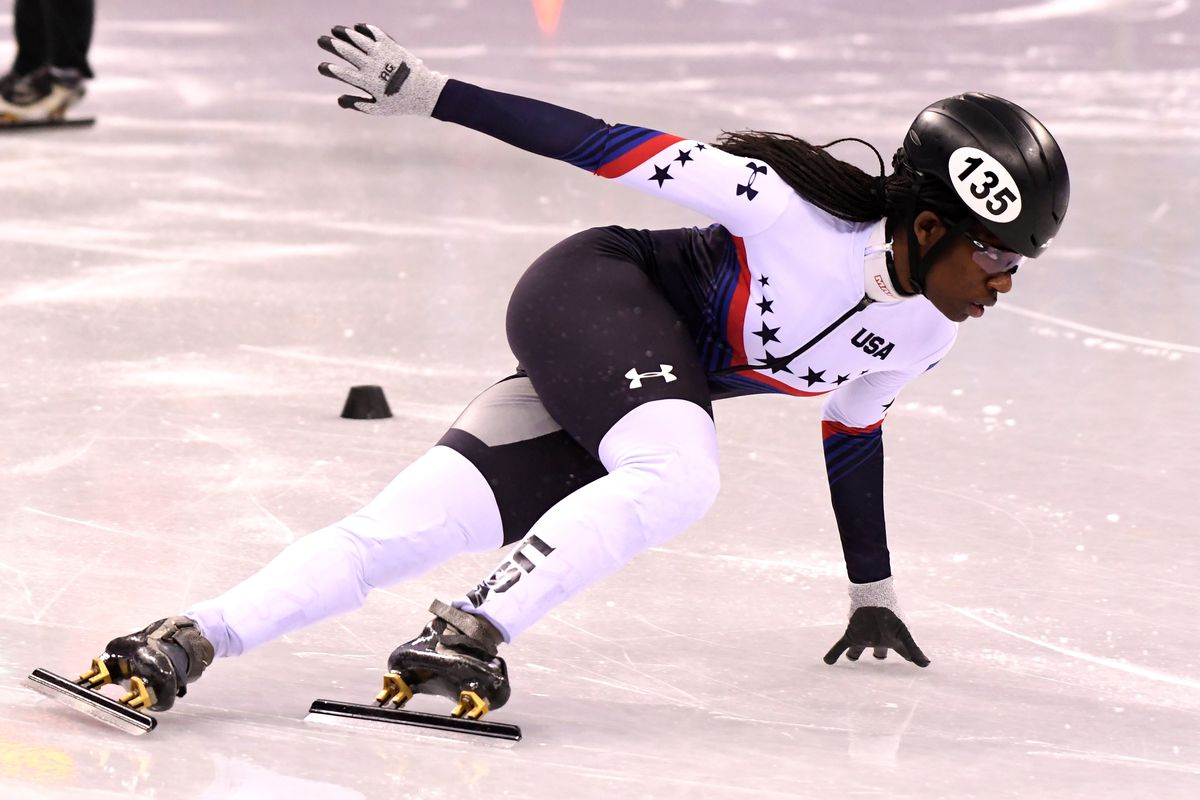 Black Athletes Are Challenging What A Winter Olympian