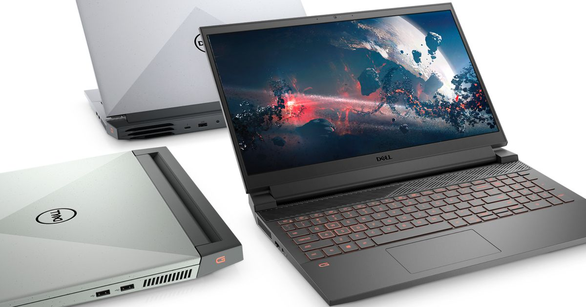 Dell's speckled G15 brings fast Ryzen processors to value-minded gamers
