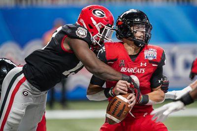 NCAA Football: Chick-fil-A Peach Bowl-Georgia vs Cincinnati