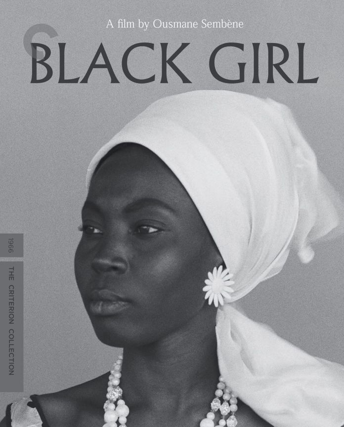 The DVD box cover for the film Black Girl by Ousmane Sembene