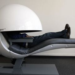 Energy Pod Chair Best Chairs For Back Pain At Home Uk Futuristic Nap Pods Get Upgraded With Sleepy Sounds But Do They Work