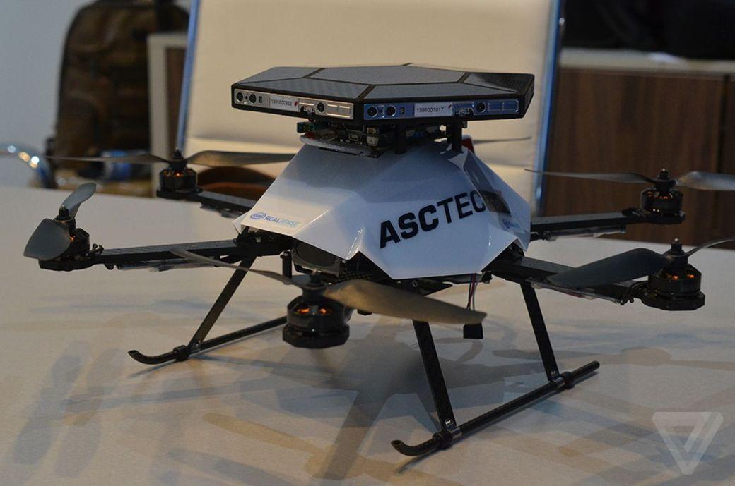 asctec firefly drone realsense