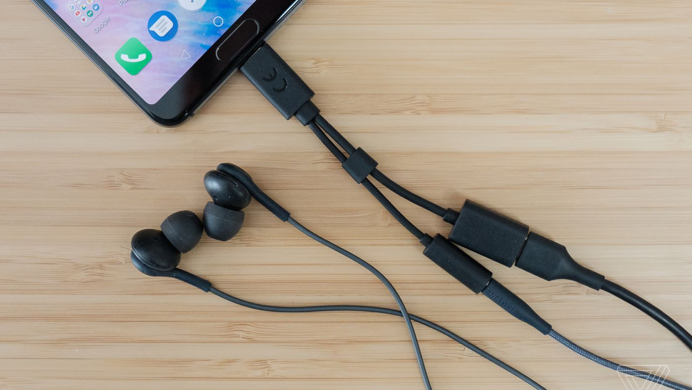 hight resolution of sony 2 in 1 ec270 headphone adapter review not our usb c savior the verge