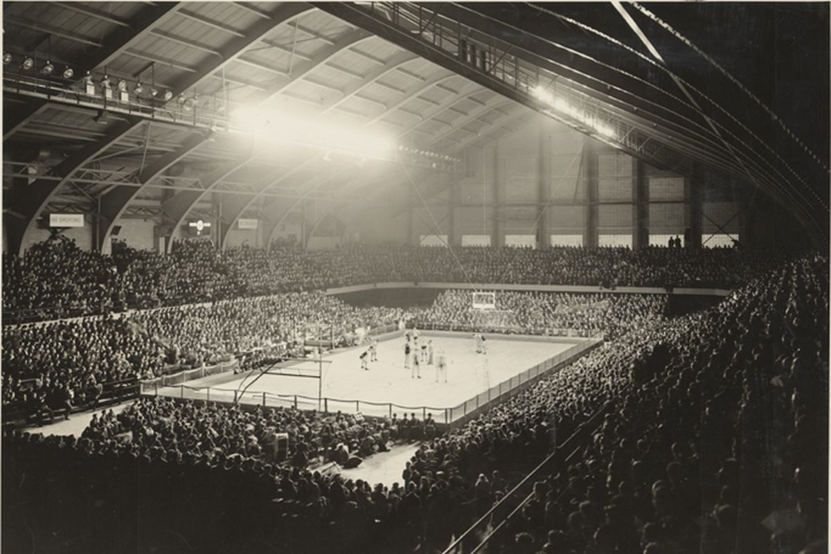 Photo of the Week Jenison Field House decication game vs