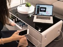 The Sobro is a coffee table-fridge hybrid, and of course ...