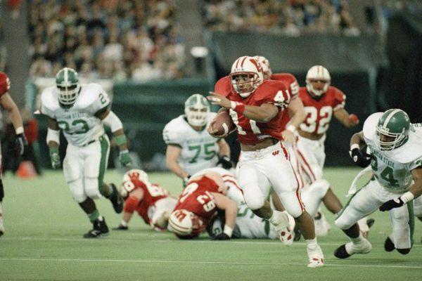 Wisconsin Badgers 1993 Rose Bowl Season 12000 Mile Trip