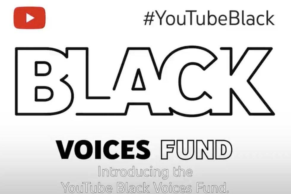 #YouTubeBlack Voices Fund logo