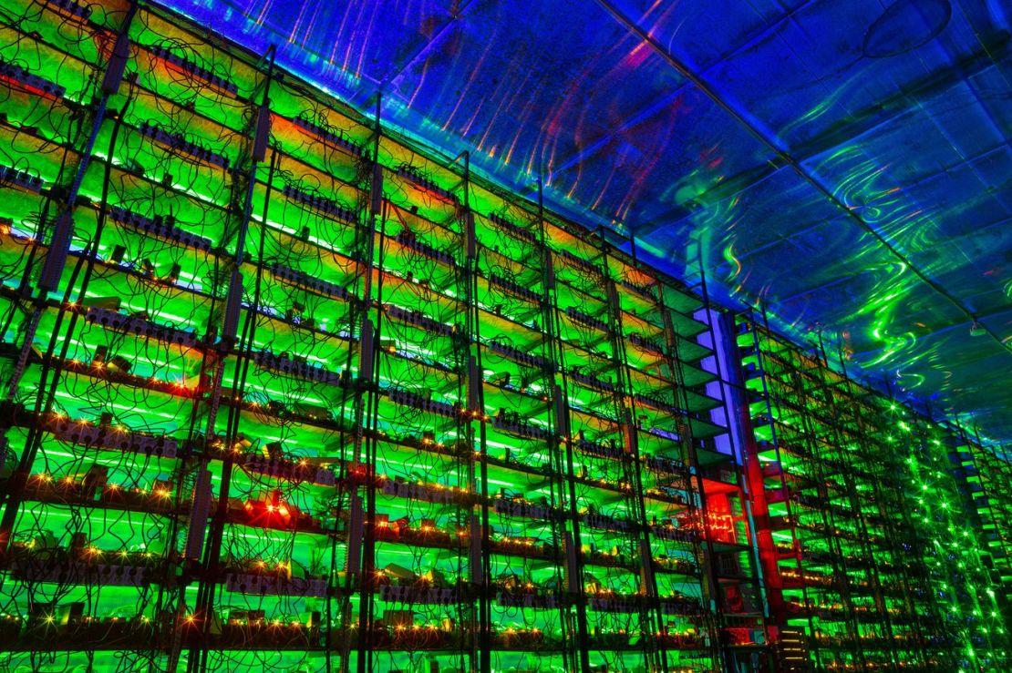 Bitcoin Mining at Russian CryptoUniverse Farm