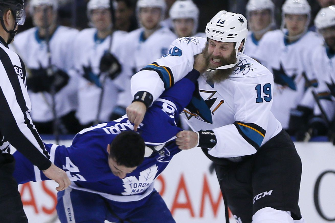 NHL: San Jose Sharks at Toronto Maple Leafs