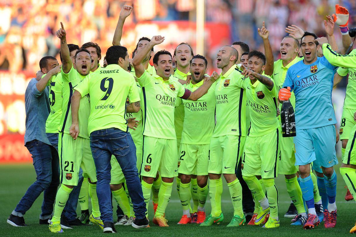 FC Barcelona News 18 May 2015 Bara Crowned 2014 2015 La