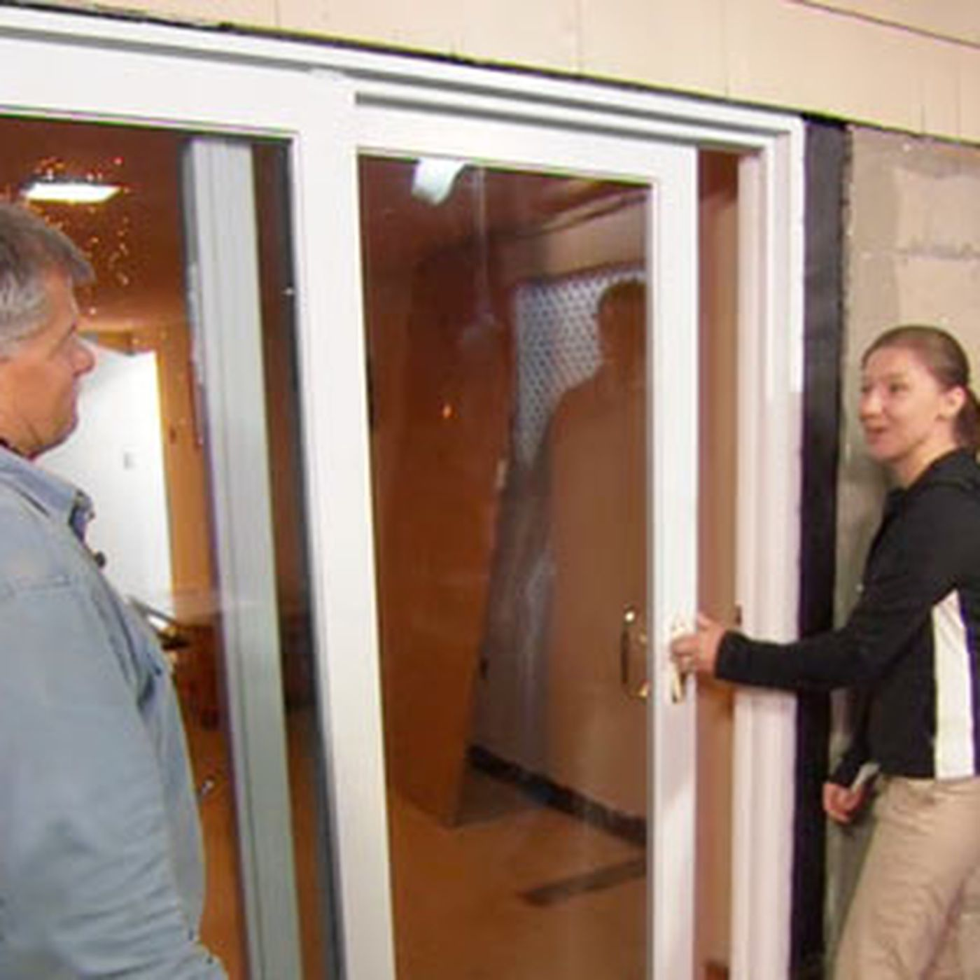 how to install a sliding glass door