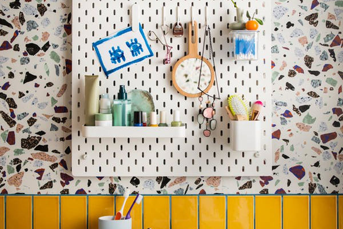 Ikeas pegboard system finally comes to the US  Curbed