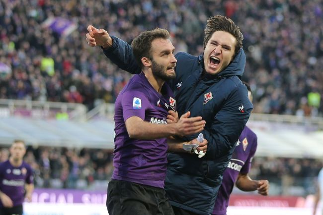 Image result for photos of fiorentina vs spal