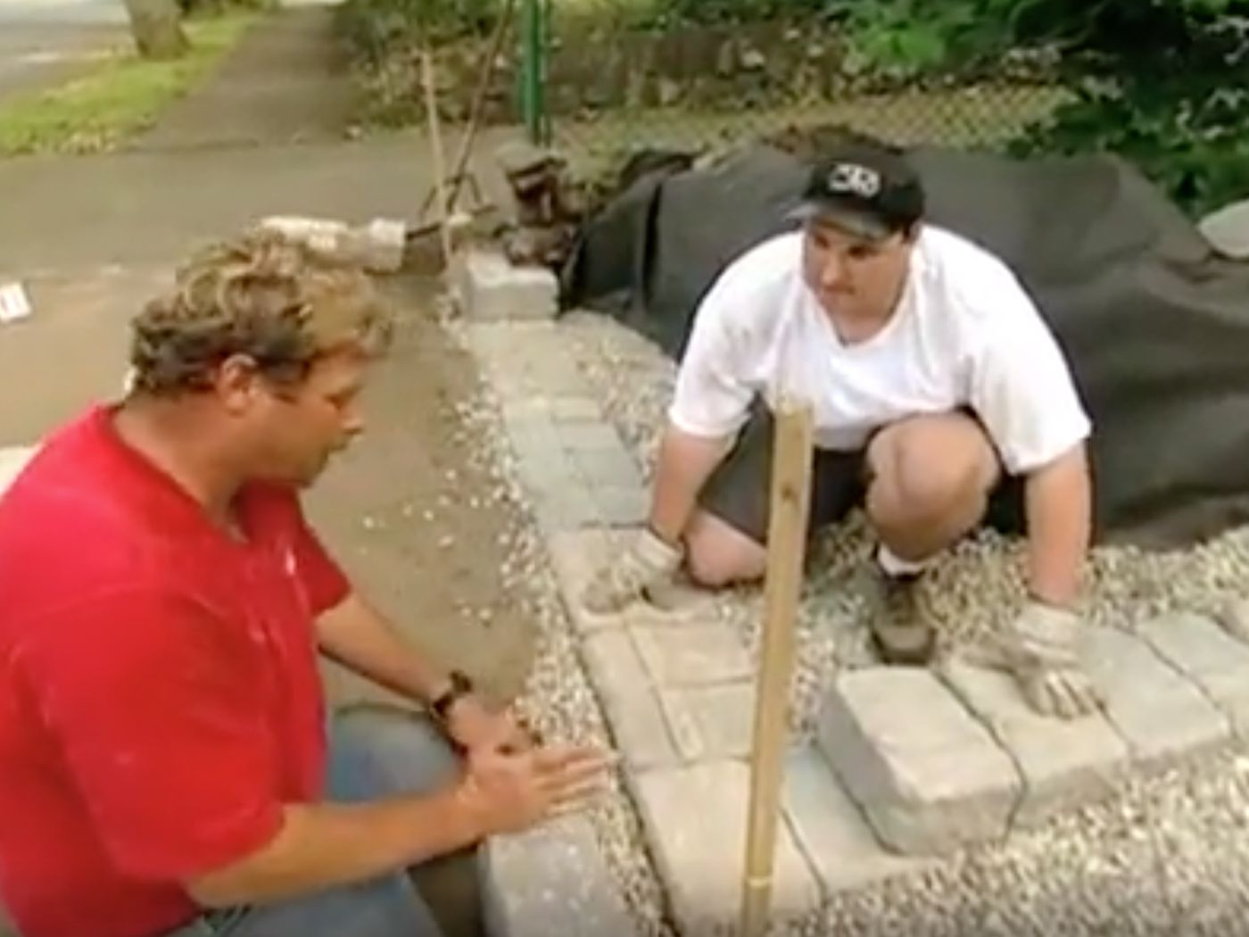 How To Build A Retaining Wall Video This Old House