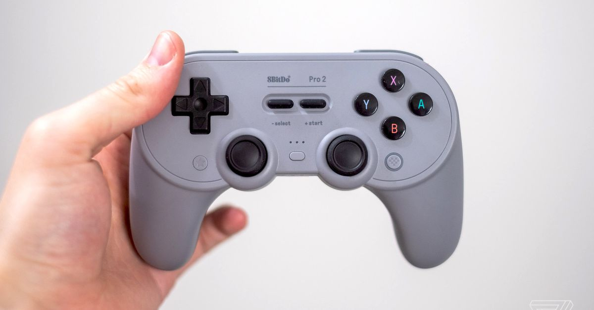 8BitDo now makes the best Switch pro controller