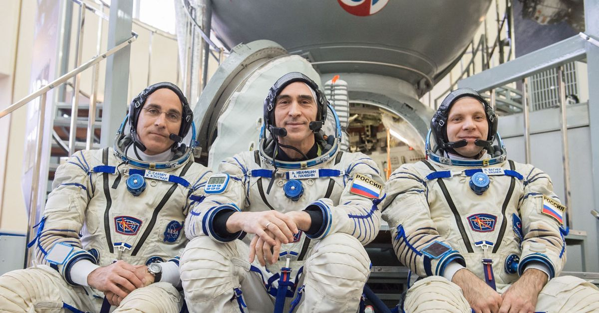 Three astronauts are returning home after waiting out most of the pandemic in space