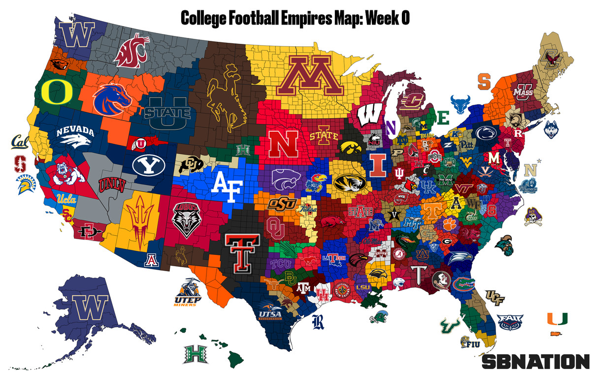 2018 college football empires