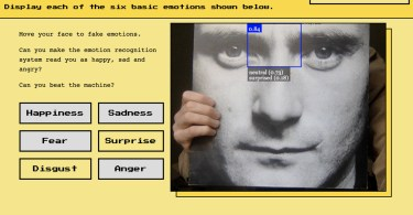 Discover the stupidity of AI emotion recognition with this little browser game