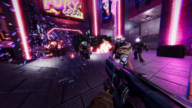 ss_4d0cf173dc7e6663e8a9012079264595bb8034be.0 Cyberpunk shooter Turbo Overkill finally gives players a chainsaw leg   Polygon