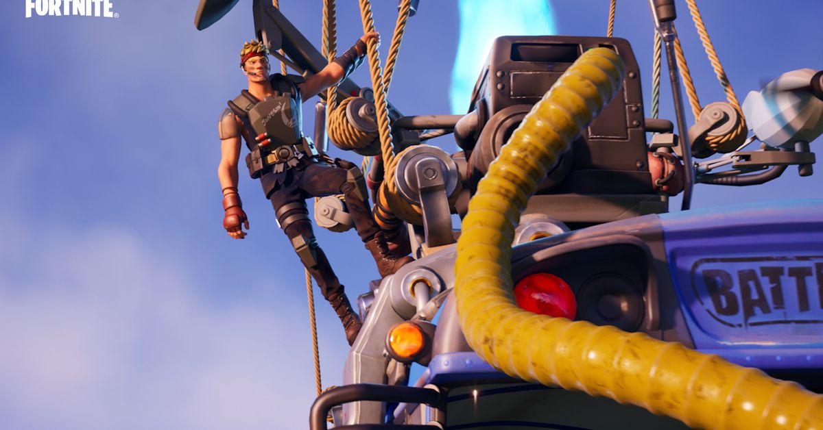Fortnite's experimental storytelling continues with a brief, thrilling single-player event