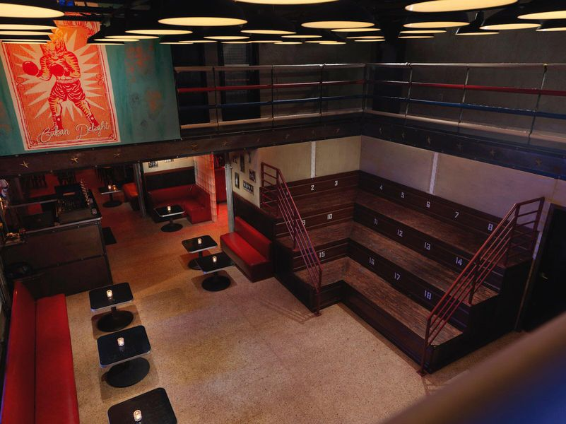 MiMo Gets a New Cuban and Boxing Themed Watering Hole  Eater Miami
