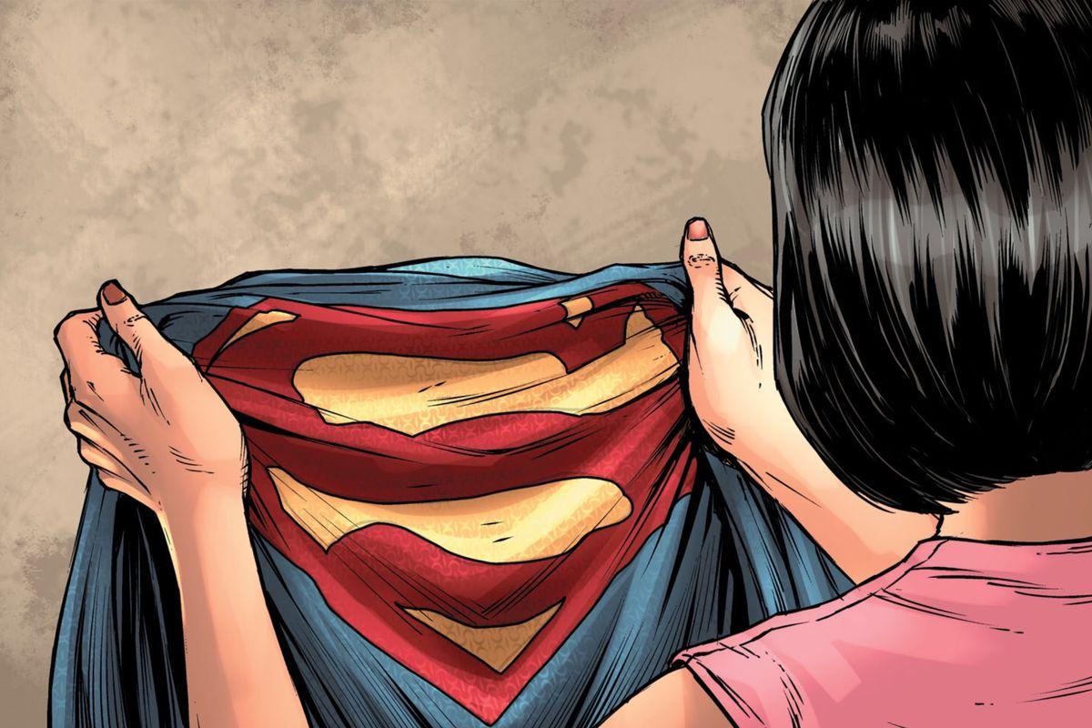 superman s old costume