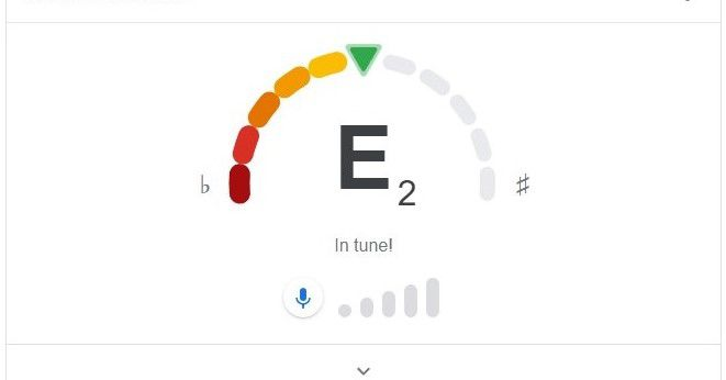 Google Search adds guitar tuners to its smorgasbord of built-in features
