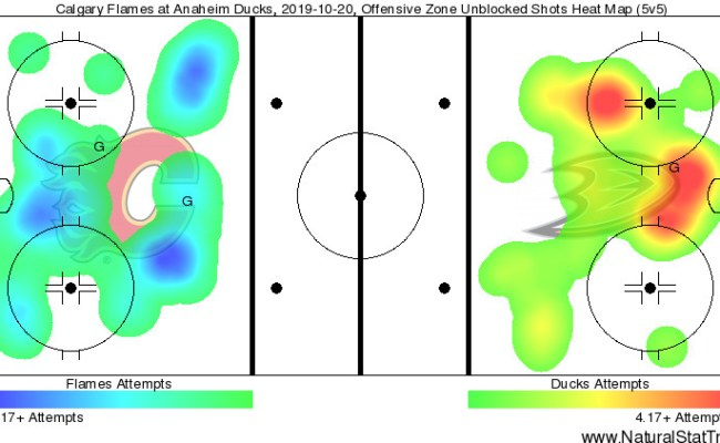 Anaheim Ducks Vs Calgary Flames Recap A Little Too Hot